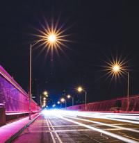 Éclairage de rue D.E.L.
